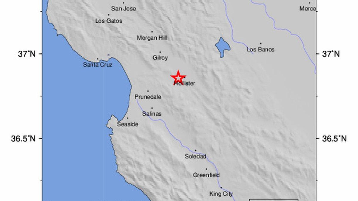 The U.S. Geological Survey says a magnitude 4.5 earthquake struck Southern California late...