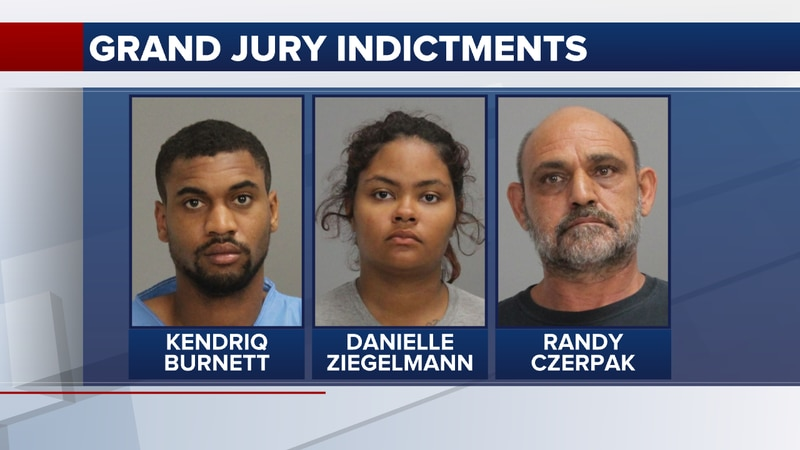 A Brazos County grand jury handed up indictments Monday, including three people accused of...