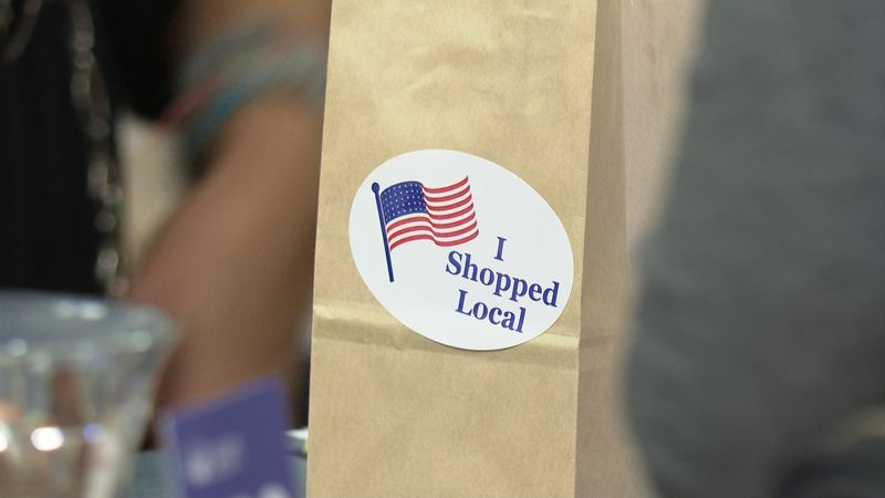 Local businesses are encouraging to stay local when shopping for the holidays.