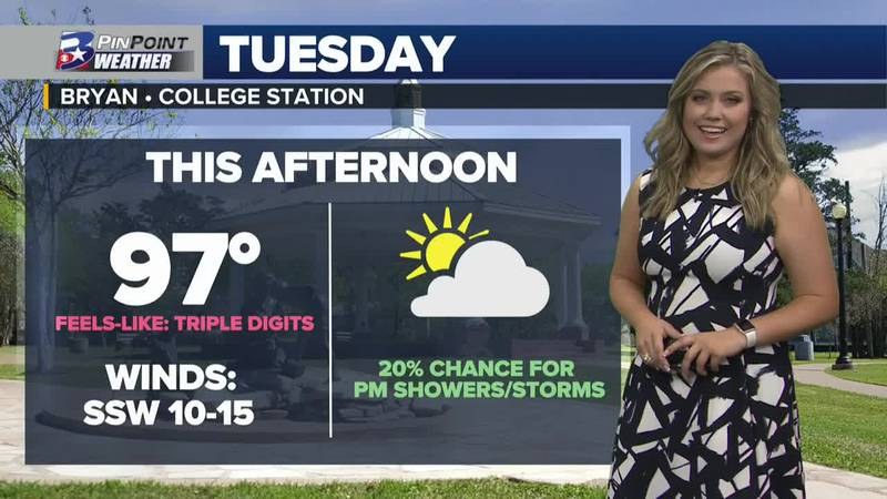 Tuesday Afternoon Weather Update 7/27