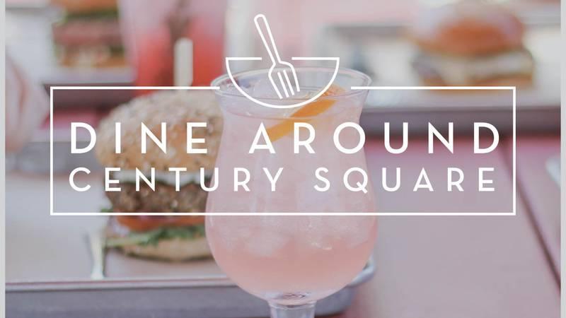 Dine Around event at Century Square