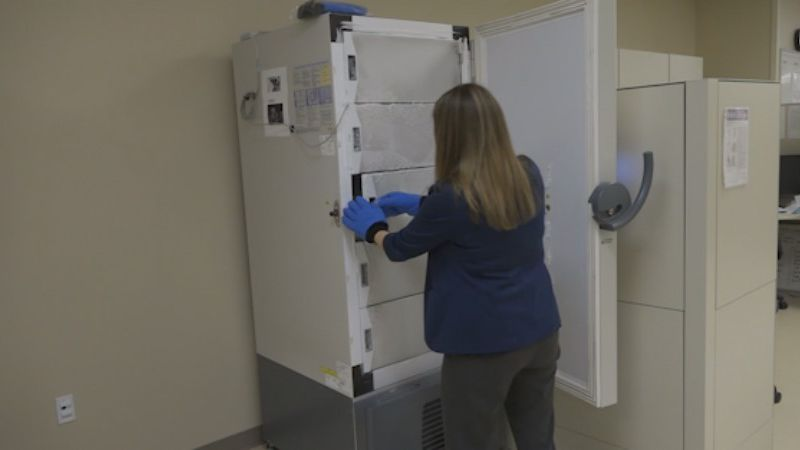 Baylor Scott & White Health prepares for shipment of COVID-19 vaccine.