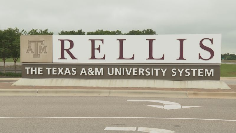 Entrance to the Texas A&M Rellis Campus