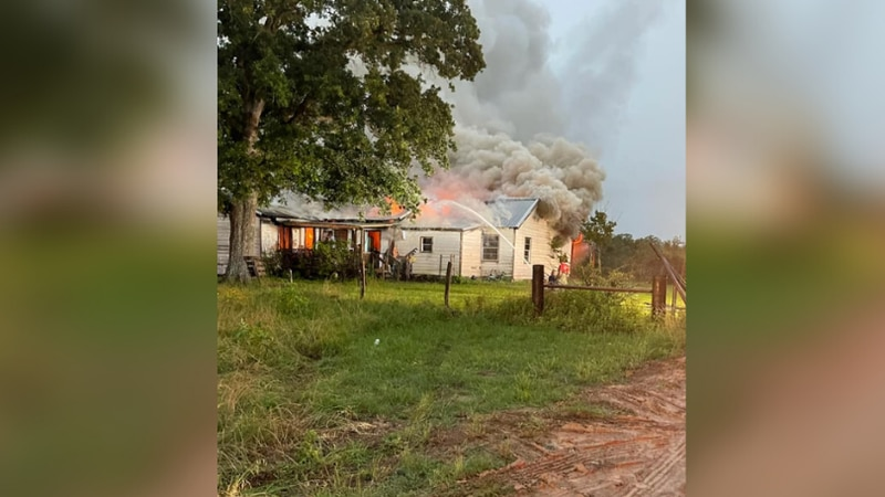 Normangee structure fire