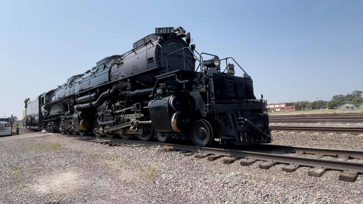 Big Boy #4014 in North Platte, Nebraska