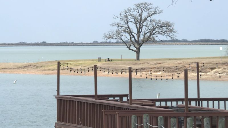 The lake and park have been closed after winter weather caused damage last week.