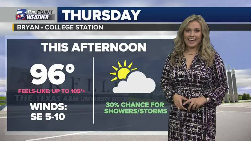 Thursday Afternoon Weather Update 7/29