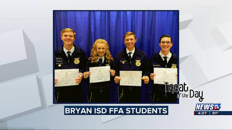 Treat of the Day: Bryan ISD FFA students