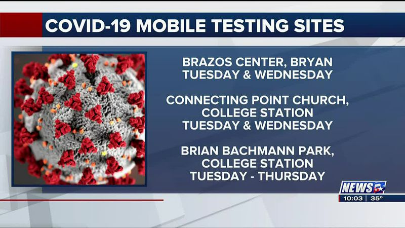 Monday COVID-19 mobile testing canceled over miscommunication