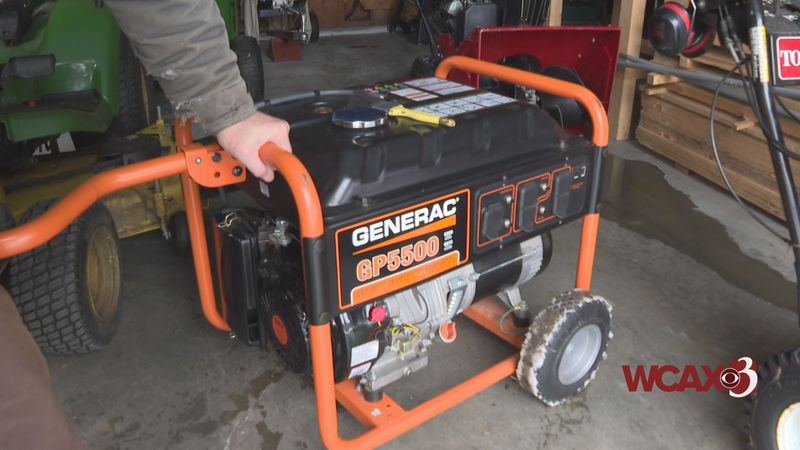 Generators should always be used outside the home.