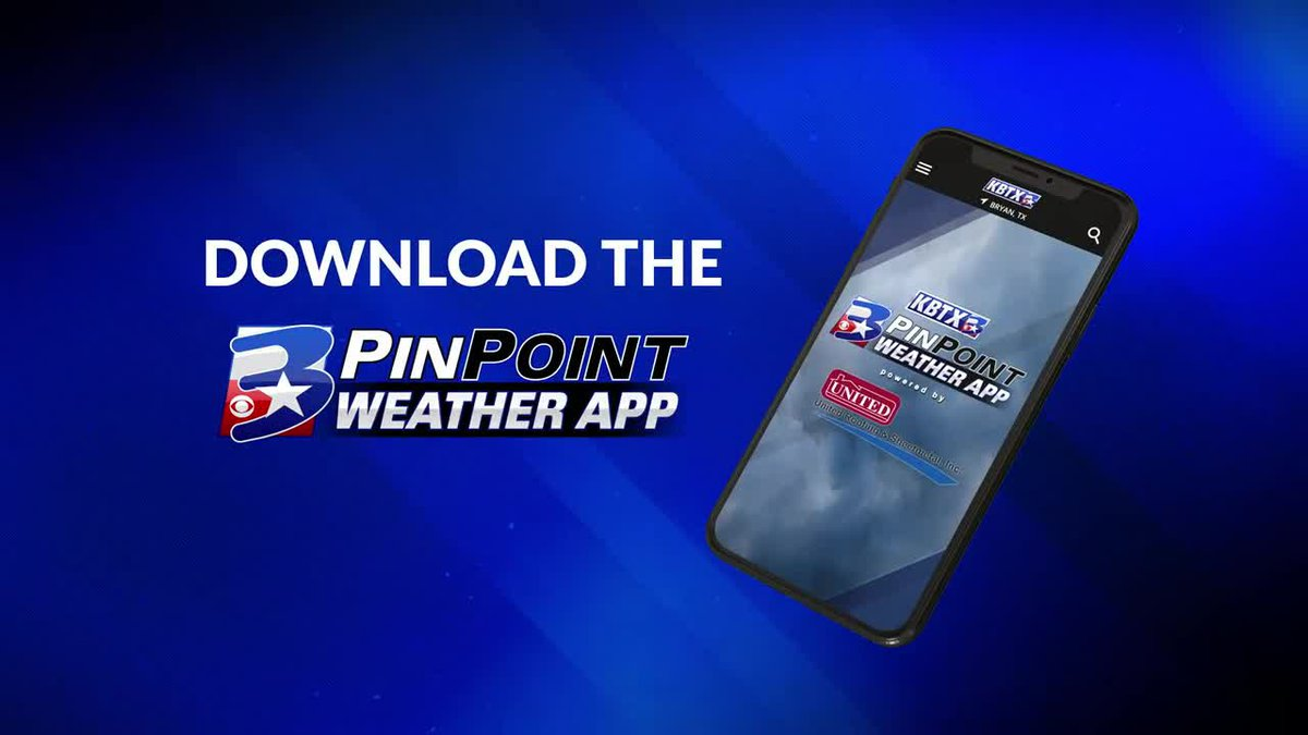 Download the KBTX PinPoint Weather App