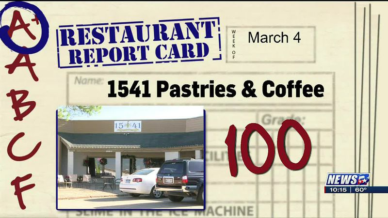 Restaurant Report Card- February 25, 2021