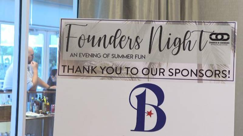 B/CS Chamber of Commerce Founders Night.