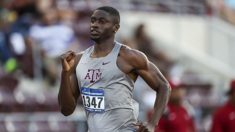 COLLEGE STATION, TX - May 26, 2021 - during NCAA Outdoor Track and Field West Regionals at E.B....