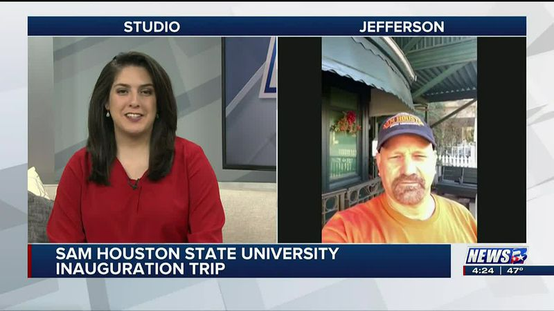 Traveling Bearkats: Students visit historic sites leading up to Inauguration Day