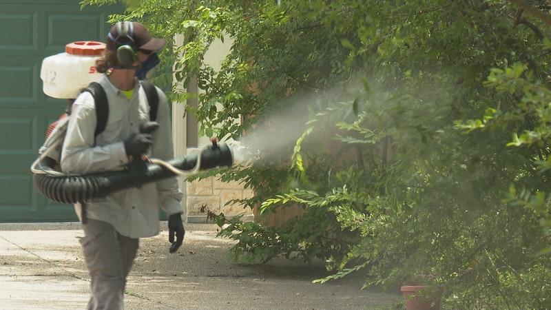 Tanner Davis, Technician with Mosquito Joe