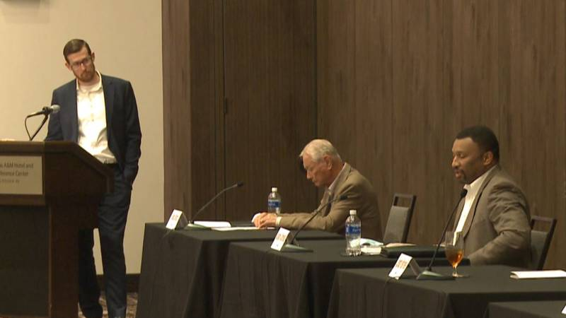 Bob Brick and Jason Cornelius recently spoke at a candidate forum talking about issues the...