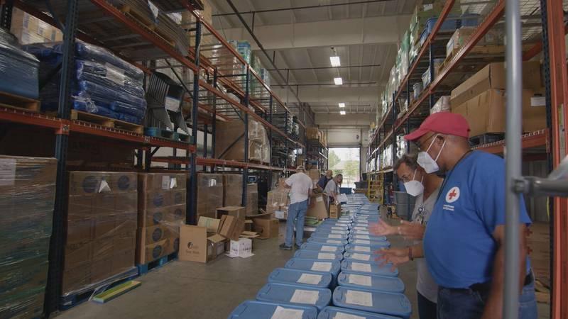 Red Cross sending supplies and volunteers for Ida.