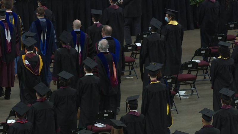 Graduates recently were recognized in fall commencement activities at Texas A&M in College...