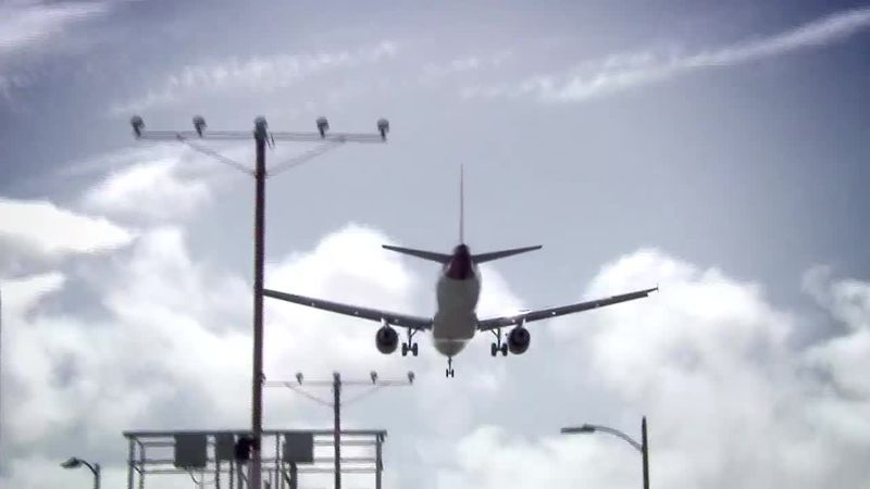 Thanksgiving air travel is expected to be down, according to the AAA.