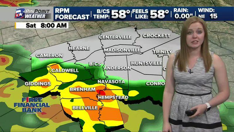 Friday Night Weather Update 11/27 | News Three At Ten