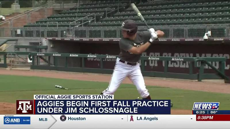 Aggies open Fall Practice at Olsen Field