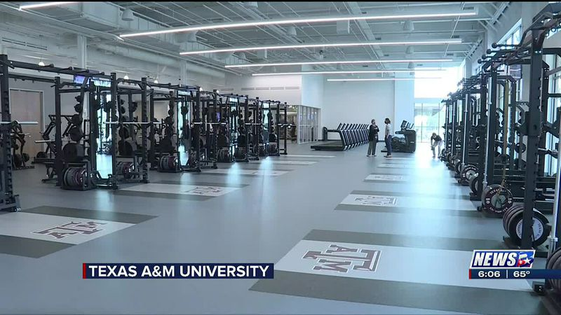 New Polo Road Rec Center dedicated at Texas A&M