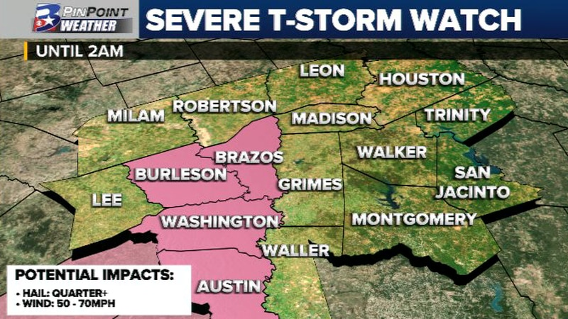 Severe T-Storm Watch