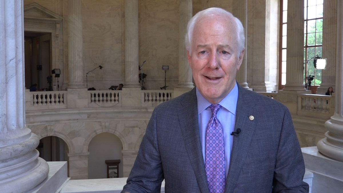 Texas Sen. John Cornyn (R-TX) discussed an upcoming trip to the border on the Hill earlier this...