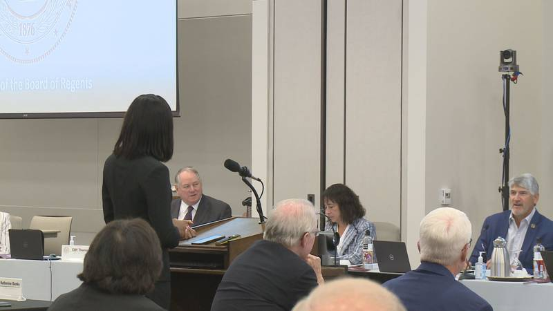 The Texas A&M Board of Regents met Thursday, and Aggie Olympian and NCAA Champion Tyra Gittens...