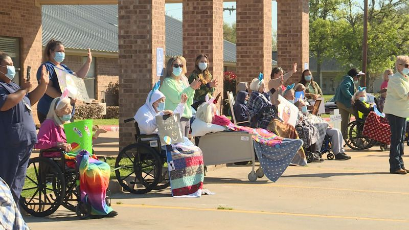 An Easter Parade happened on Good Friday in Robertson County.