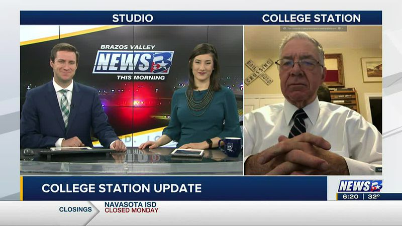 Mayor Karl Mooney joined BVTM from College Station.