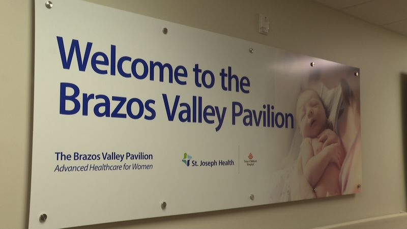 The Brazos Valley Pavilion for Women is located on the third floor of the College Station...