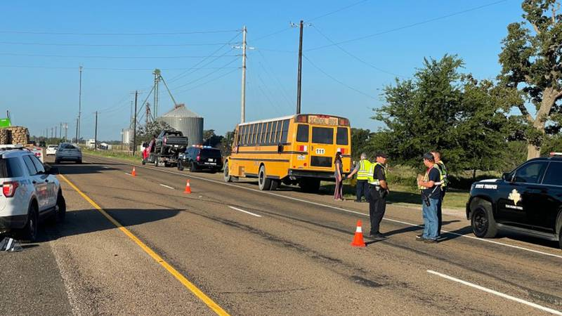 Bryan ISD bus involved in crash