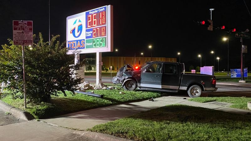 Nobody was seriously injured Monday night in a two-vehicle collision at the intersection of E...
