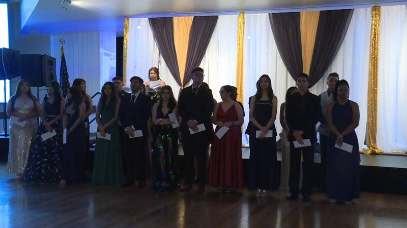 More than 40 high school students were recognized with scholarships.