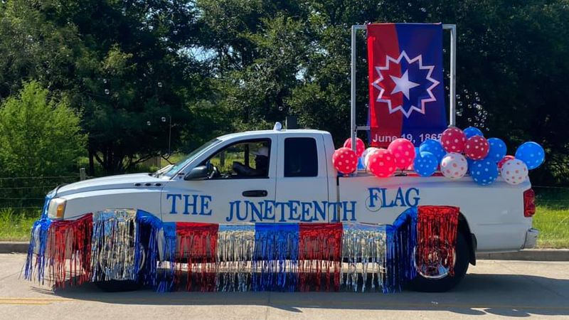 Juneteenth Parade in Bryan