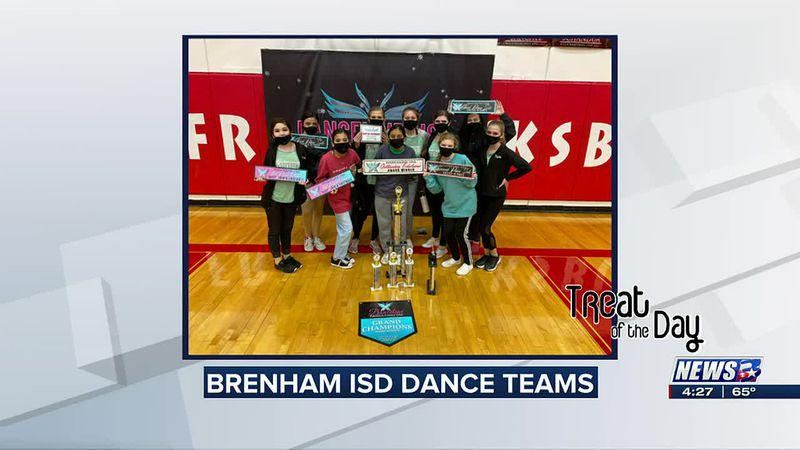 Treat of the Day: Brenham ISD dance teams