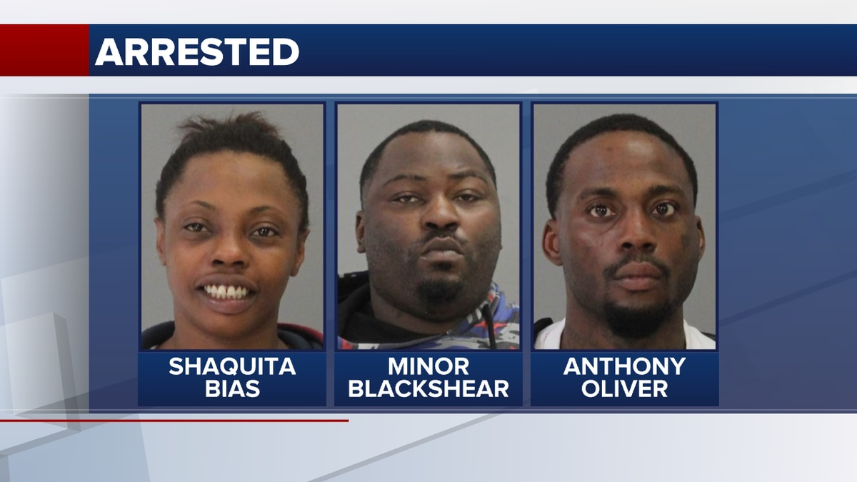 Three suspects were arrested on several drug-related charges Wednesday, including manufacture...