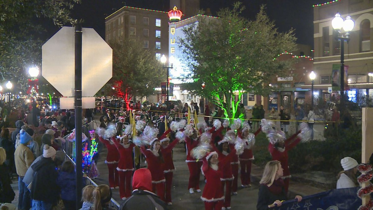 Lighted Christmas Parade in Downtown Bryan 2018