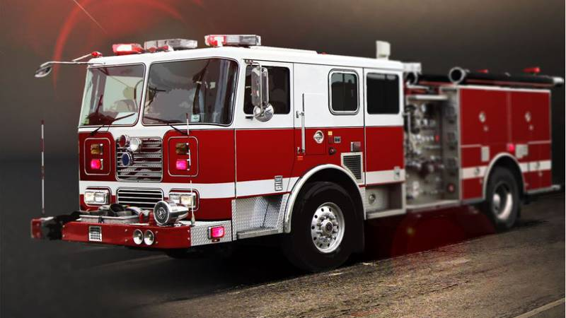 Firefighters from Caney Creek, Conroe, and Needham responded to the early morning blaze on...