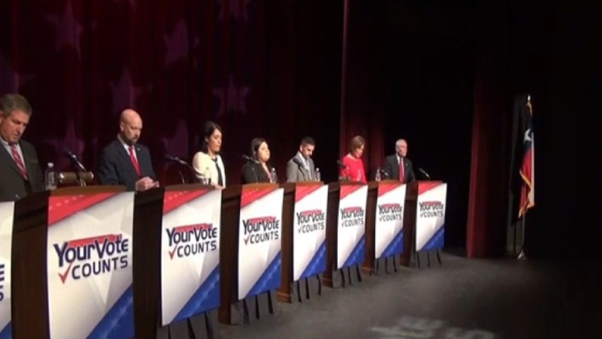 District 17 congressional candidate forum was hosted Saturday evening by KBTX and KWTX