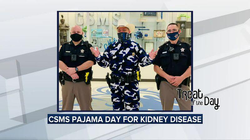 Treat of the Day: CSISD raises money for National Kidney Disease Awareness month