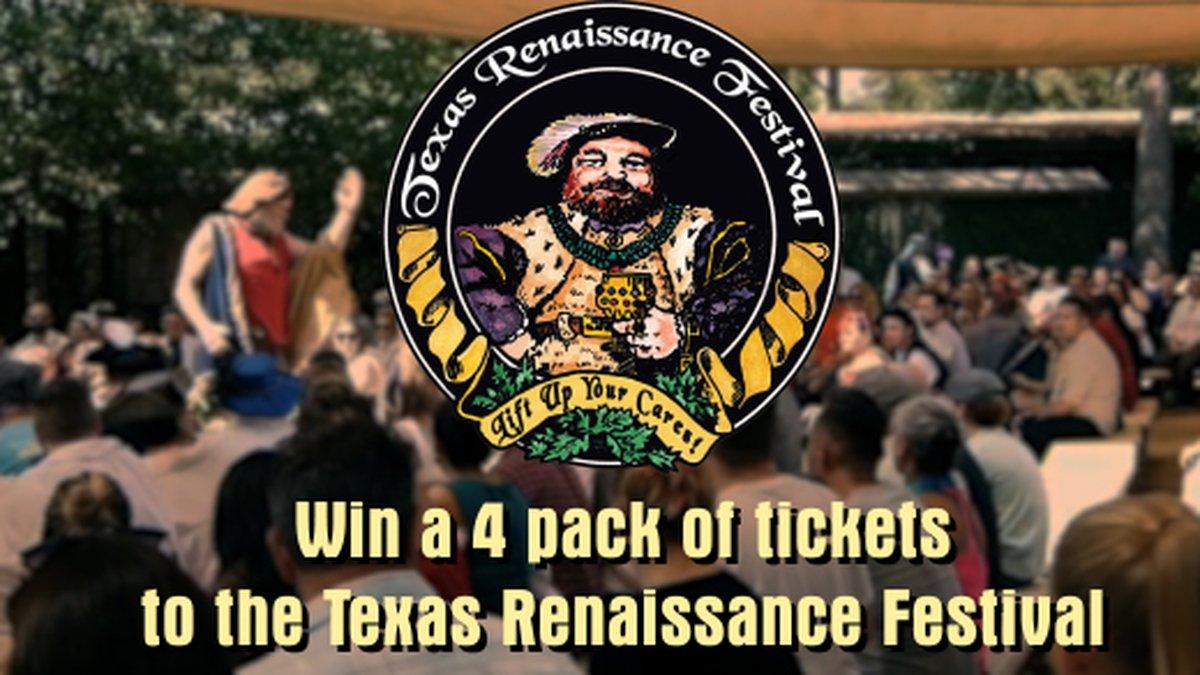 Win Tickets to the Texas Renaissance Festival!