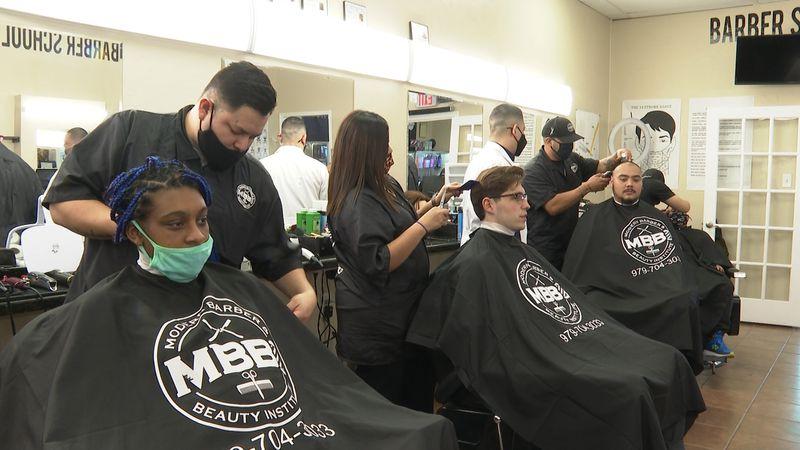 Modern Barber & Beauty Institute.