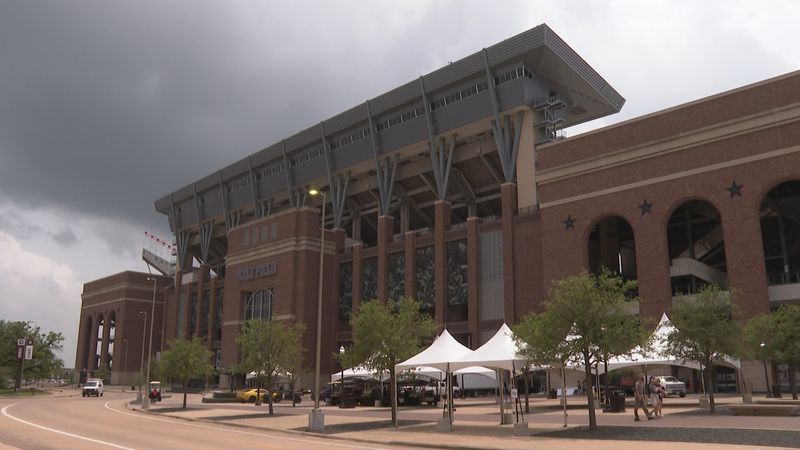 For the first time ever, the Bike Texas MS 150 will finish at Kyle Field in College Station.