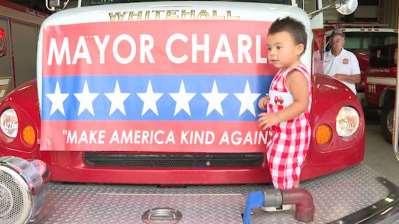 The youngest Mayor in America is running for re-election at just 18-months-old.