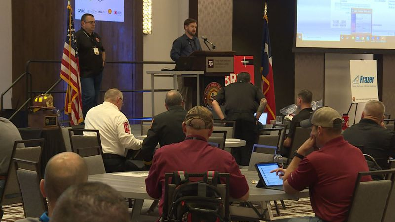 Hundreds of firefighters are in town for a conference this week.