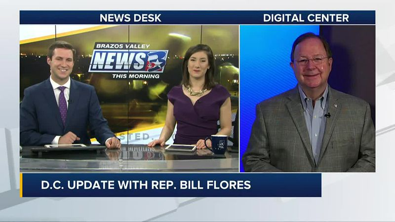 Rep. Bill Flores looks back at his career in one final appearance on BVTM