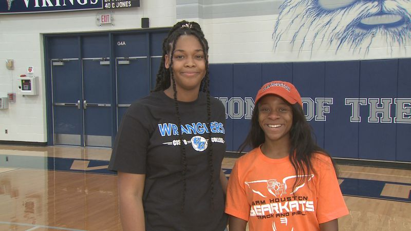 Bryan High School's Rajer Gurode and Heaven Dunn announced Wednesday afternoon they would be...